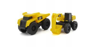 CAT ころがし  ダンプトラック&ショベルカー TM005