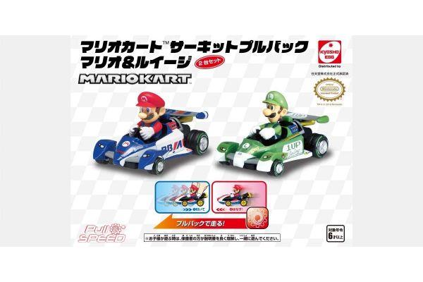 マリオカート サーキット プルバック マリオ&ルイージ TV012