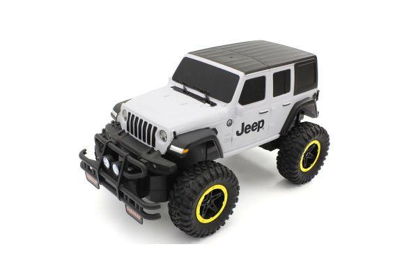 Jeep Wrangler Unlimited Sahara (艶消しホワイト&ブラック)TU002BW